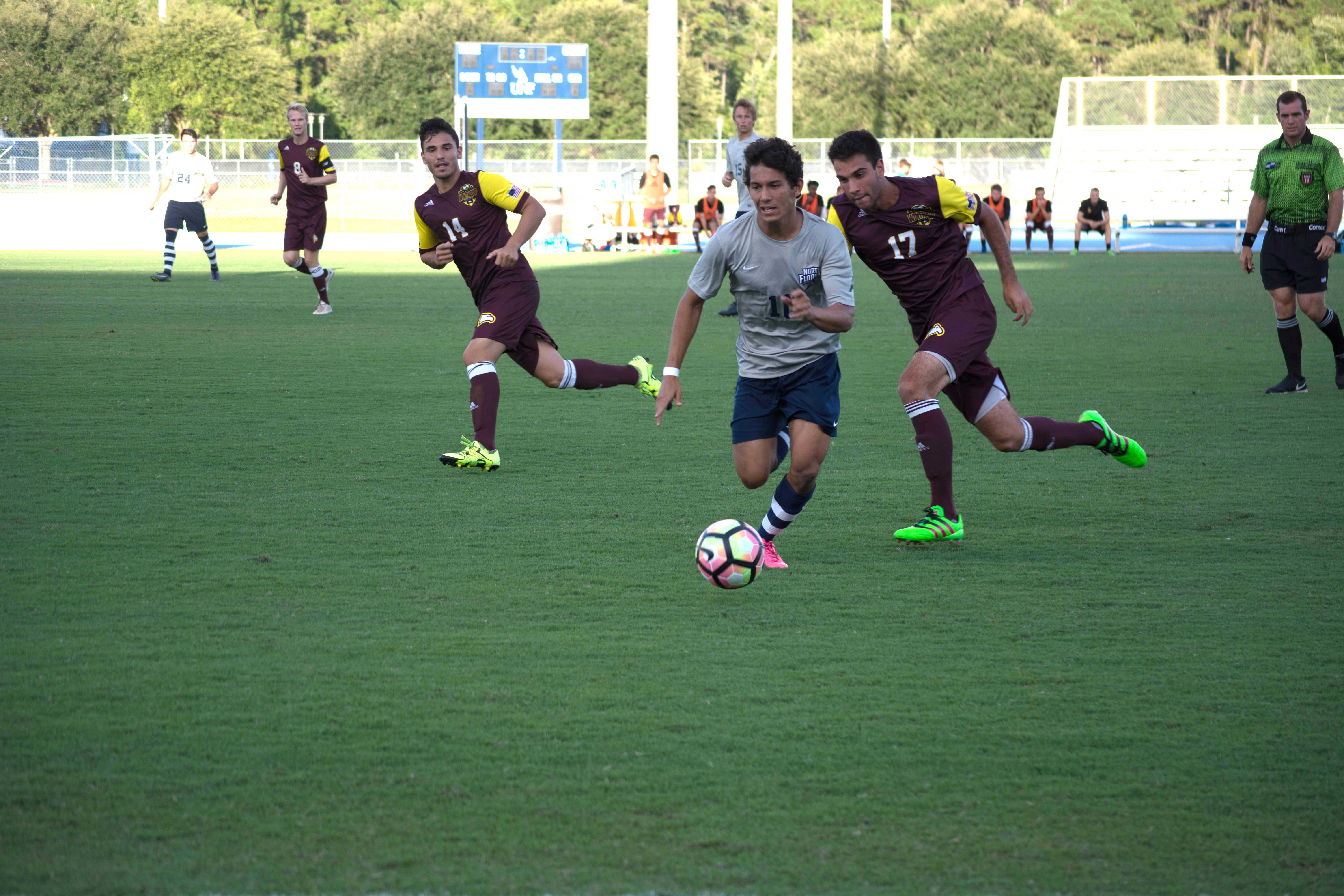 Student athletes come from around the world to be Ospreys