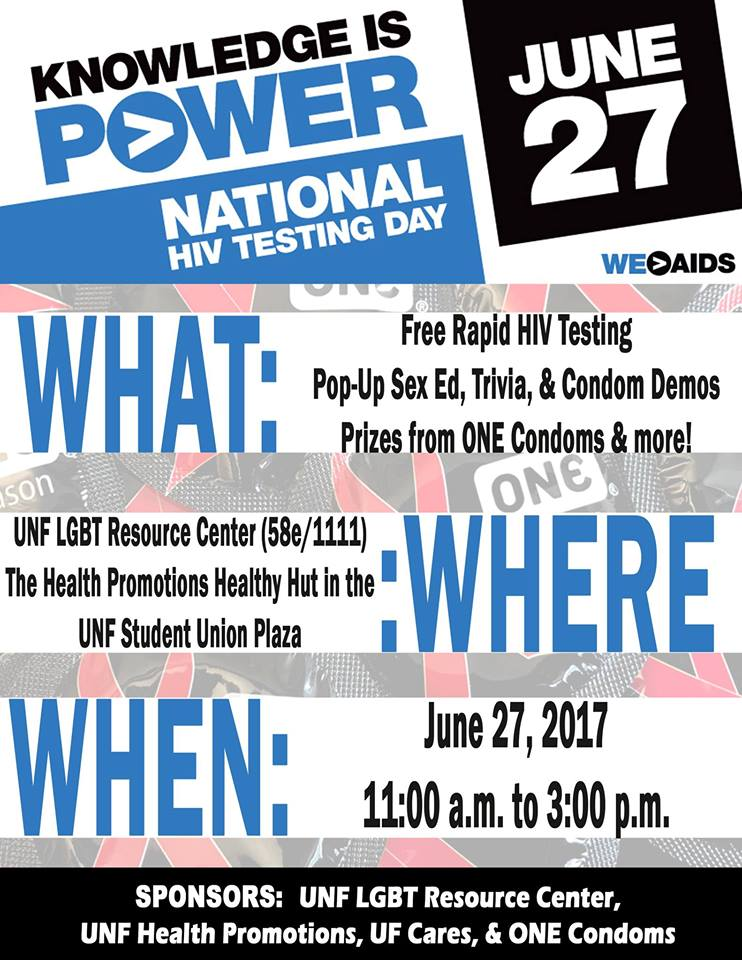 Free HIV testing for students