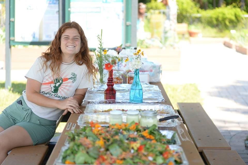 Mallory Schott: Growing a community through a garden