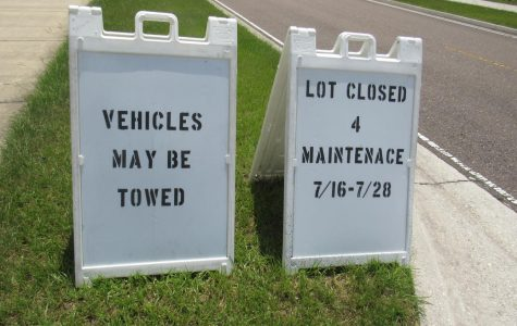 UPDATE: Lot 18 completely closed for two weeks