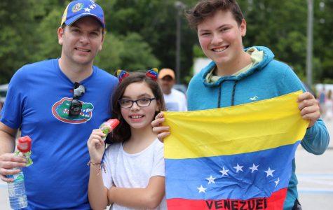 UNF Venezuelan students vote against President Maduro's constitutional rewrite