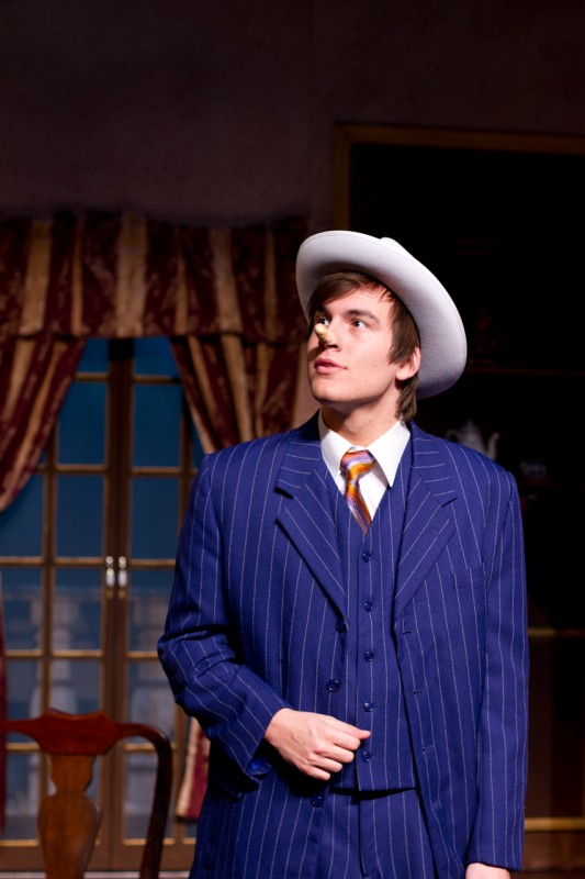 Jacob Rothman plays the lead in the Opera.  Photo by Randy Rataj