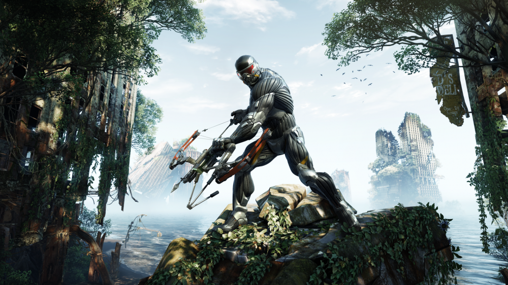 Screen shot of Prophet on a hunt, provided by Electronic Arts Inc.