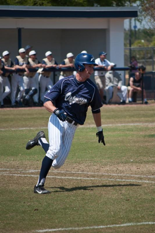 Photo Credit: Sean Patterson Drew Weeks, pictured in a March 31 game against ETSU, homered in his second straight game.