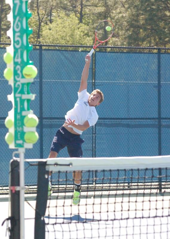 Photo Credit: Travis Gibson Bernardo Craveiro has a brother that plays tennis for Jacksonville University.
