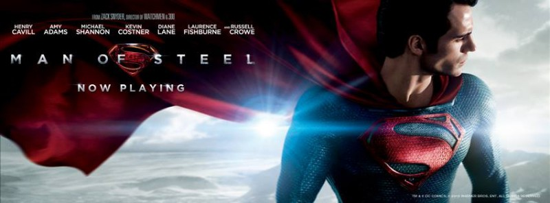 Man of Steel is an entertaining ride of spectacle brilliance, but don't have too high of hopes for a great plot or acting.