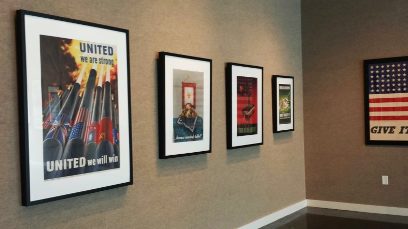 The posters can be seen at the Lufrano Gallery until Aug. 16.