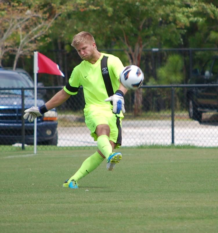 Sixth year senior keeper Brad Sienkiewicz will need to stay healthy and play at a high level to improve UNF's poor goal differential from last season.