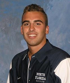 Sophomore forward Jean Rivaroli (Photo courtesy of UNF Athletics)