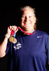 Linda Hamilton, UNF Women's Soccer coach, played in the inaugural FIFA Women's World Cup. Photo by Ali Blumenthal