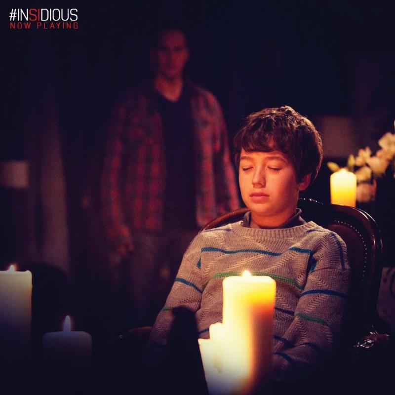 Ty Simpkins as Dalton Lambert in **Insidious: Chapter 2** Photo courtesy Facebook