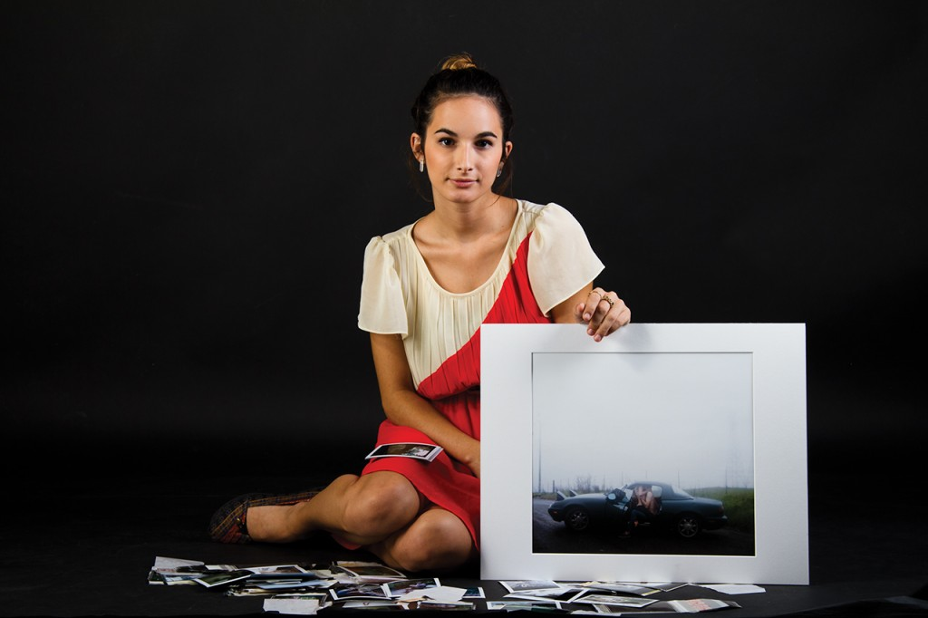 Alexis Mire, a UNF photography senior, has a large following on Flickr. Photo by Randy Rataj