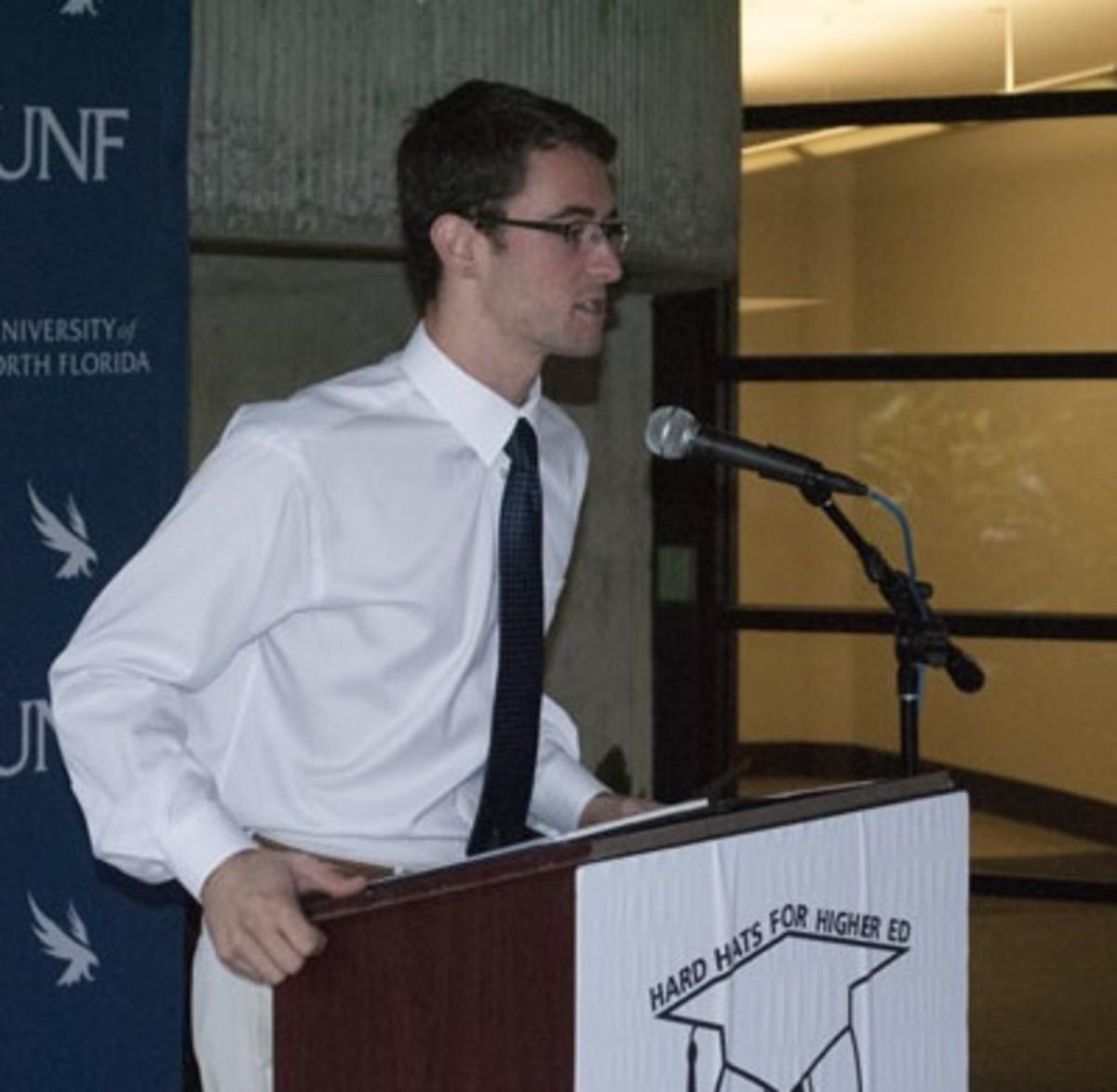 Carlo Fassi, Student Body President. Photo by Zack Schoenheide