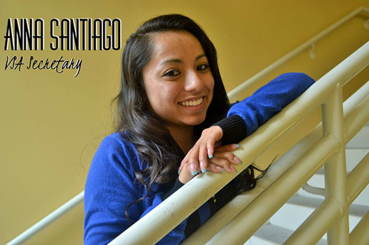 Anna Santiago is a criminal justice major and a member of FSA. Photo from Facebook.