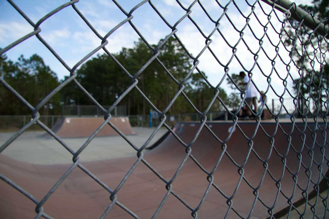 The skate park will remain empty until Campus Recreation gets funding for an attendant. Photo by Randy Rataj