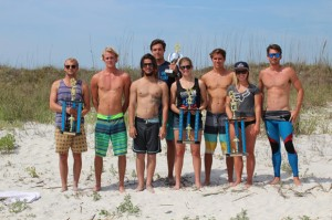 The UNF Surf team relishes in the glory. Photo courtesy Adam Bartoshesky.