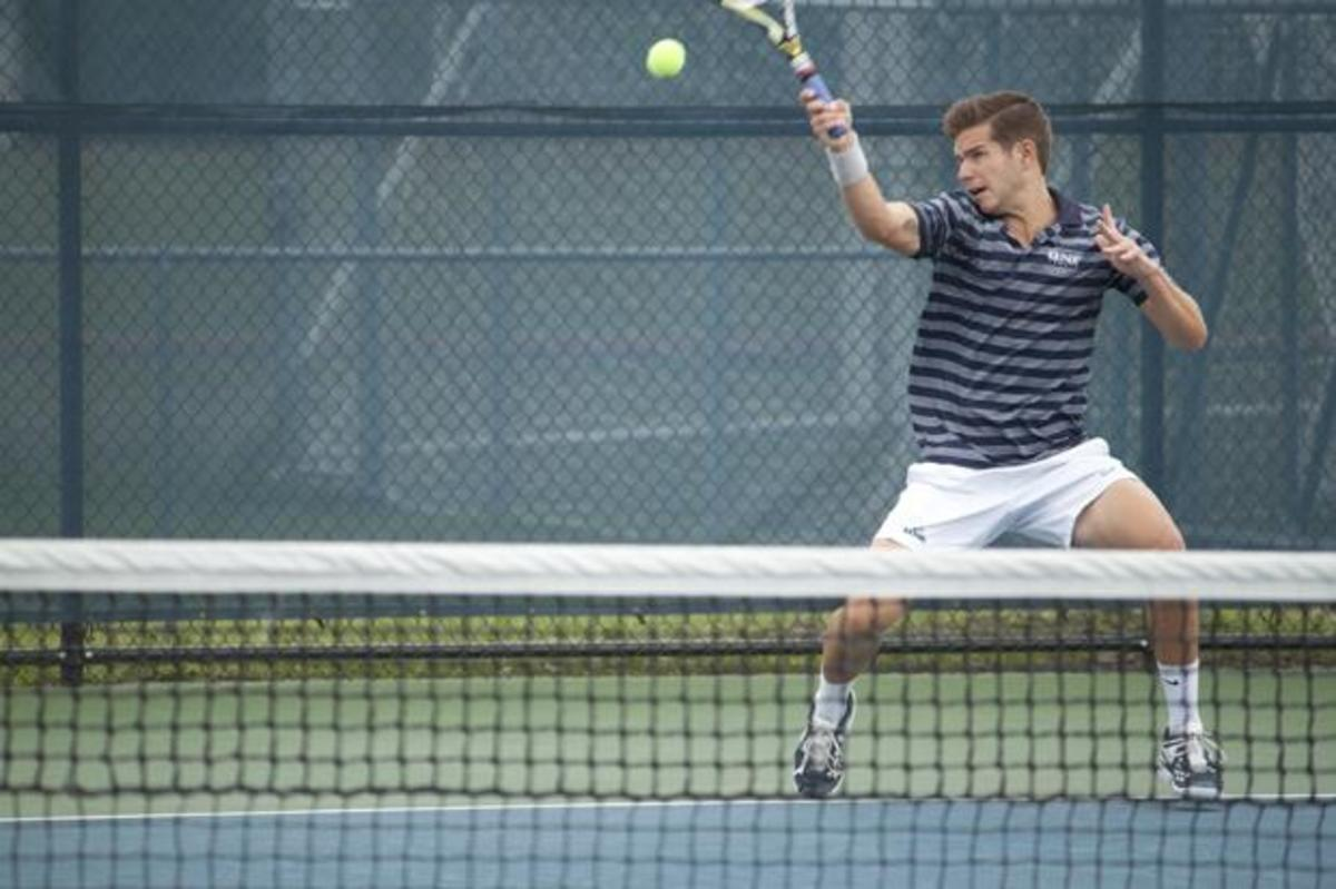 UNF men's doubles tennis duo beats number one team at NCAA ...