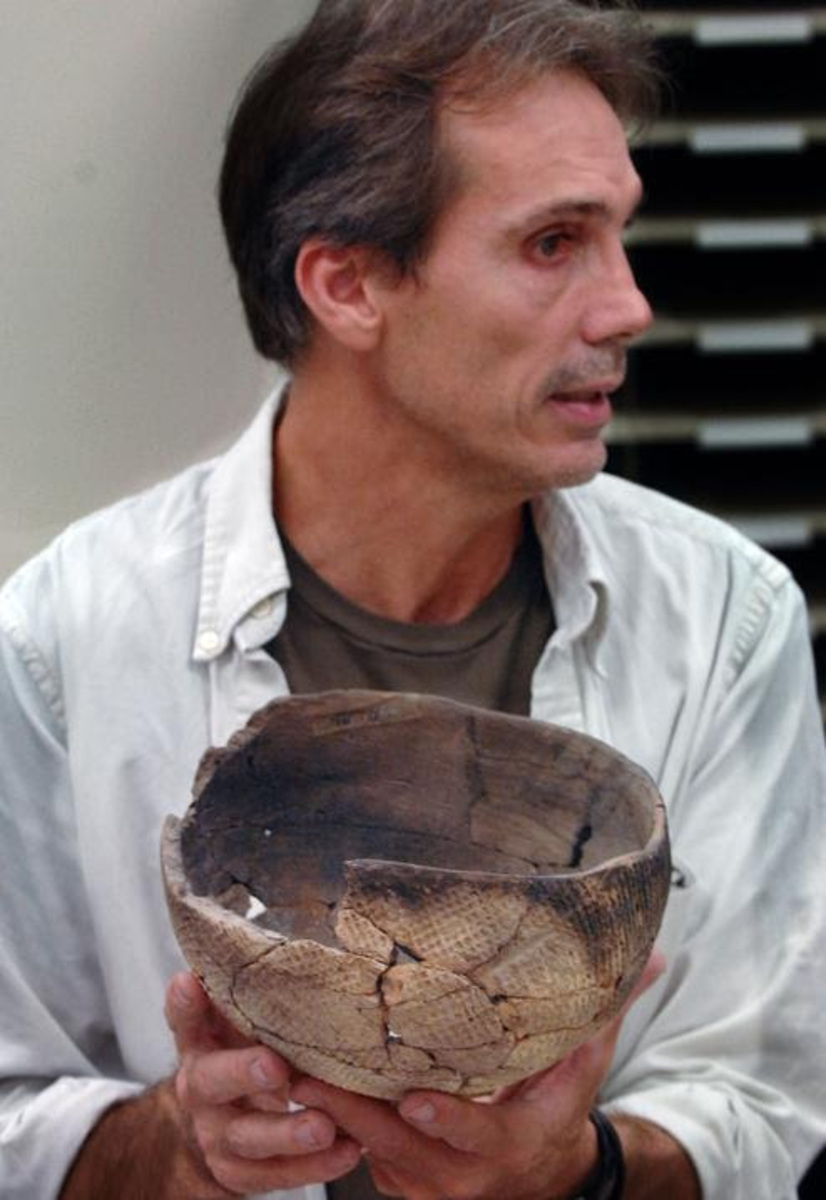 Archaeology professor Keith Ashley curated MOSH's Uncovering the Past exhibit and will be holding a lecture on the long history of Northeast Florida on May 29th. Photo courtesy UNF Faculty Page.