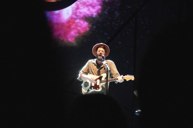 Ray LaMontagne's most recent album, Supernova, made up most of the show's song list. Photo by Michaela Gugliotta