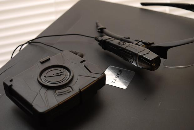 UPD will equip officers with the Taser International AXON Flex model. Photo courtesy Thetruthaboutguns.com.