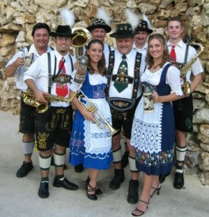The Swinging Bavarians will lead sing-alongs and line dancing at the festival. Photo courtesy Facebook