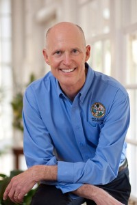 Rick Scott is the current governor of Florida and is running for reelection on the Nov. 4 ballot. Photo courtesy Facebook