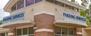 Parking Services is an auxiliary function of the university that the DSOs provide bonds for the campus to fund adequately. Photo courtesy UNF website.