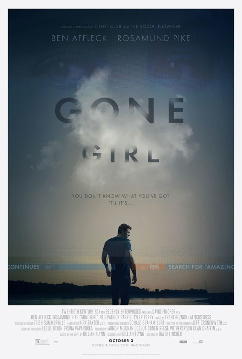 "The ""Gone Girl"" film was released Oct. 3 and is currently in theaters. Photo courtesy Facebook"