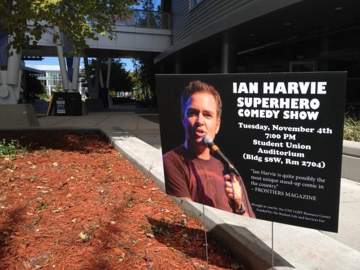 Comedian Ian Harvie will perform Nov. 4 at 7 p.m. Photo by Lydia Moneir