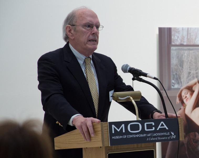 Preston Haskell speaks about his gift of $5 million to MOCA's endowment.