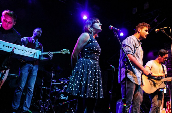 Weekend Atlas performs at their album release show at Freebird Live on Saturday Jan. 17.  Photo courtesy Justin Drain