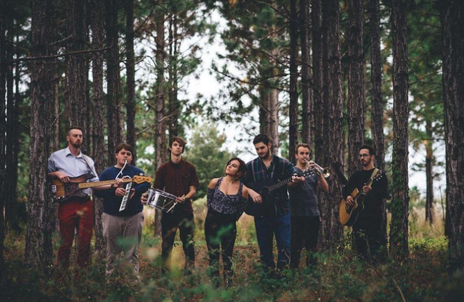 Weekend Atlas is an indie folk rock band from Jacksonville, Fla. with three members who attend UNF.  Photo courtesy Weekend Atlas Facebook Page