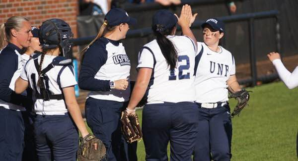 The UNF Softball team went 5-0 at the Troy Invitational.   Photo courtesy unfospreys.com