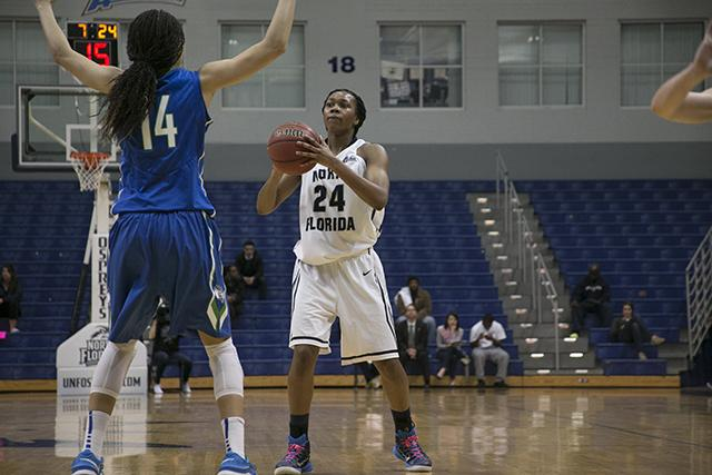 UNF loses to number one FGCU