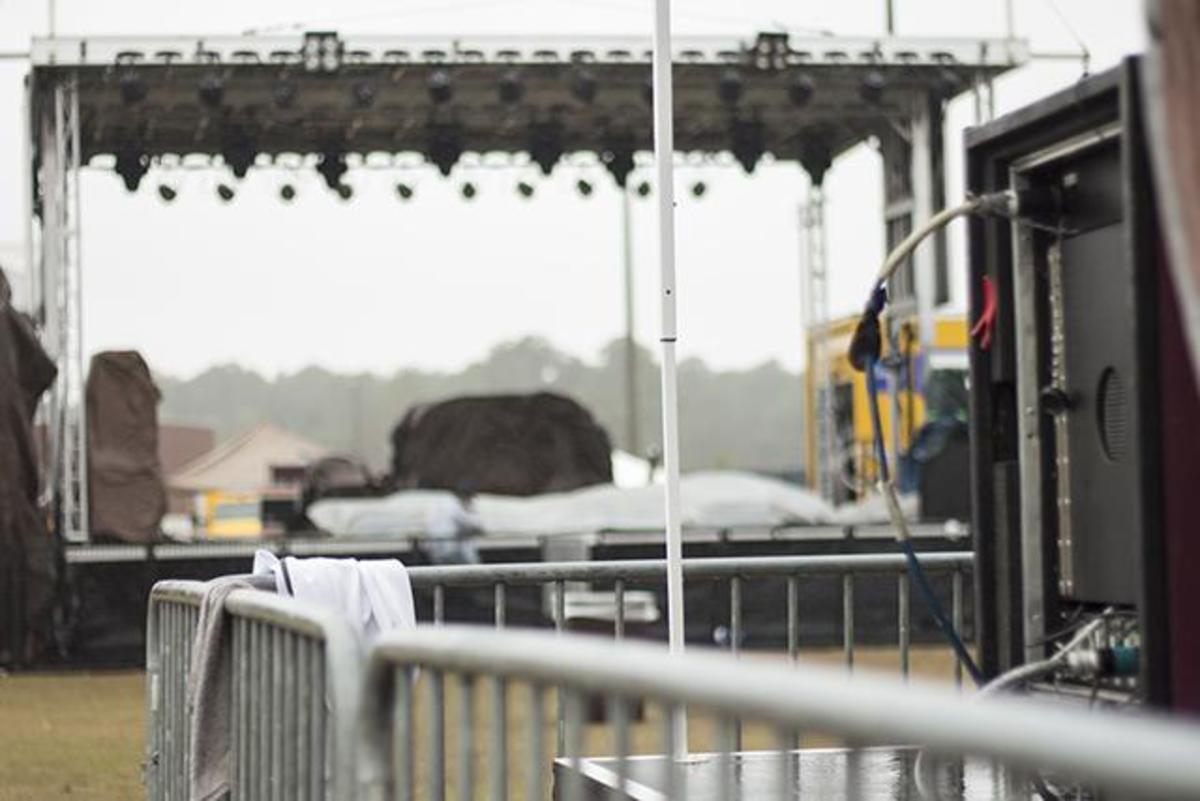 Osprey Productions' OZ Music Fest day 2 has yet to begin.Photo by Mike Herrera