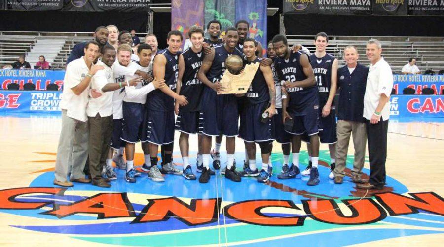 UNF men's basketball captures second Cancun Challenge title