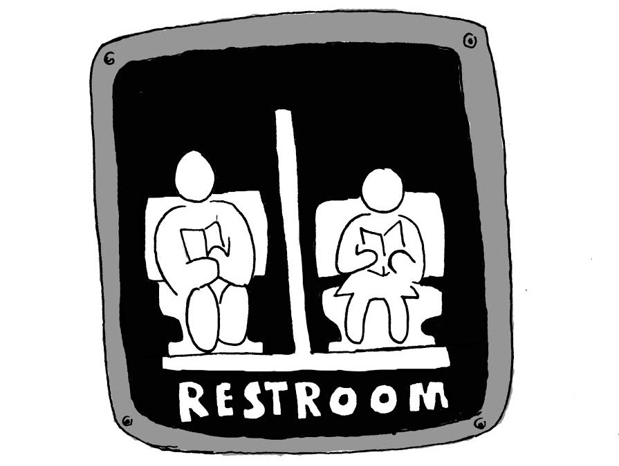In Florida, a bill is working its way through the House of Representatives that would make it illegal for someone to use a public restroom if the restroom is not specifically for their gender. <em>Graphic by Mike Salussolia</em>
