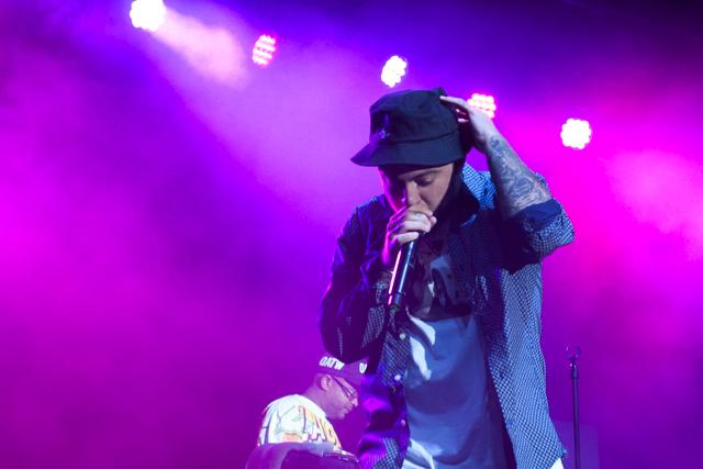 Mac+Miller+performs+in+the+rain+at+UNF