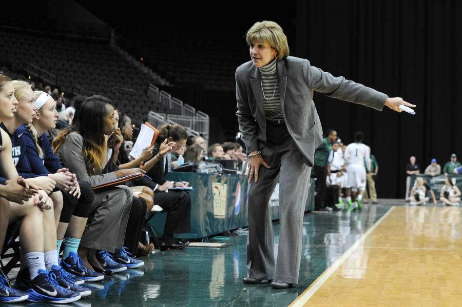 Head Coach Mary Tappmeyer has been coaching the Ospreys for 23 years. Photo courtesy UNF Photos