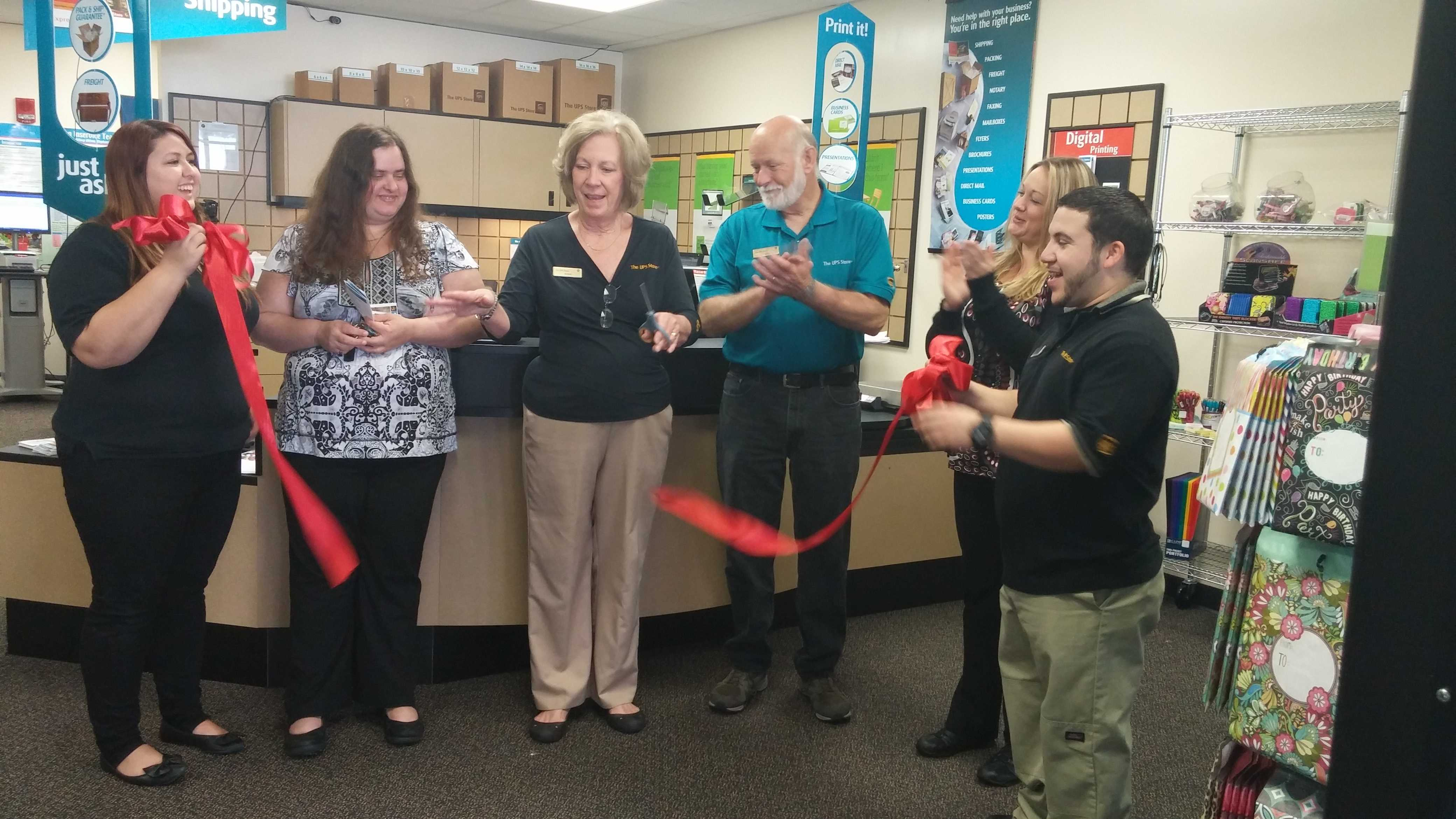UPS store reopens under new owner