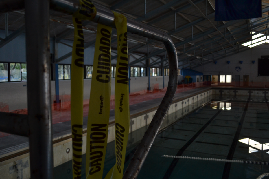 The closing of the pool was due to a complex array of issues with maintenance and funding being only a portion of the larger problem.<br><i>Photo by Jordan Ferrell</i>