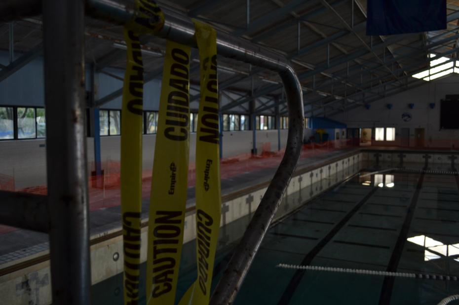 The Aquatic Center: UNF's brokedown palace
