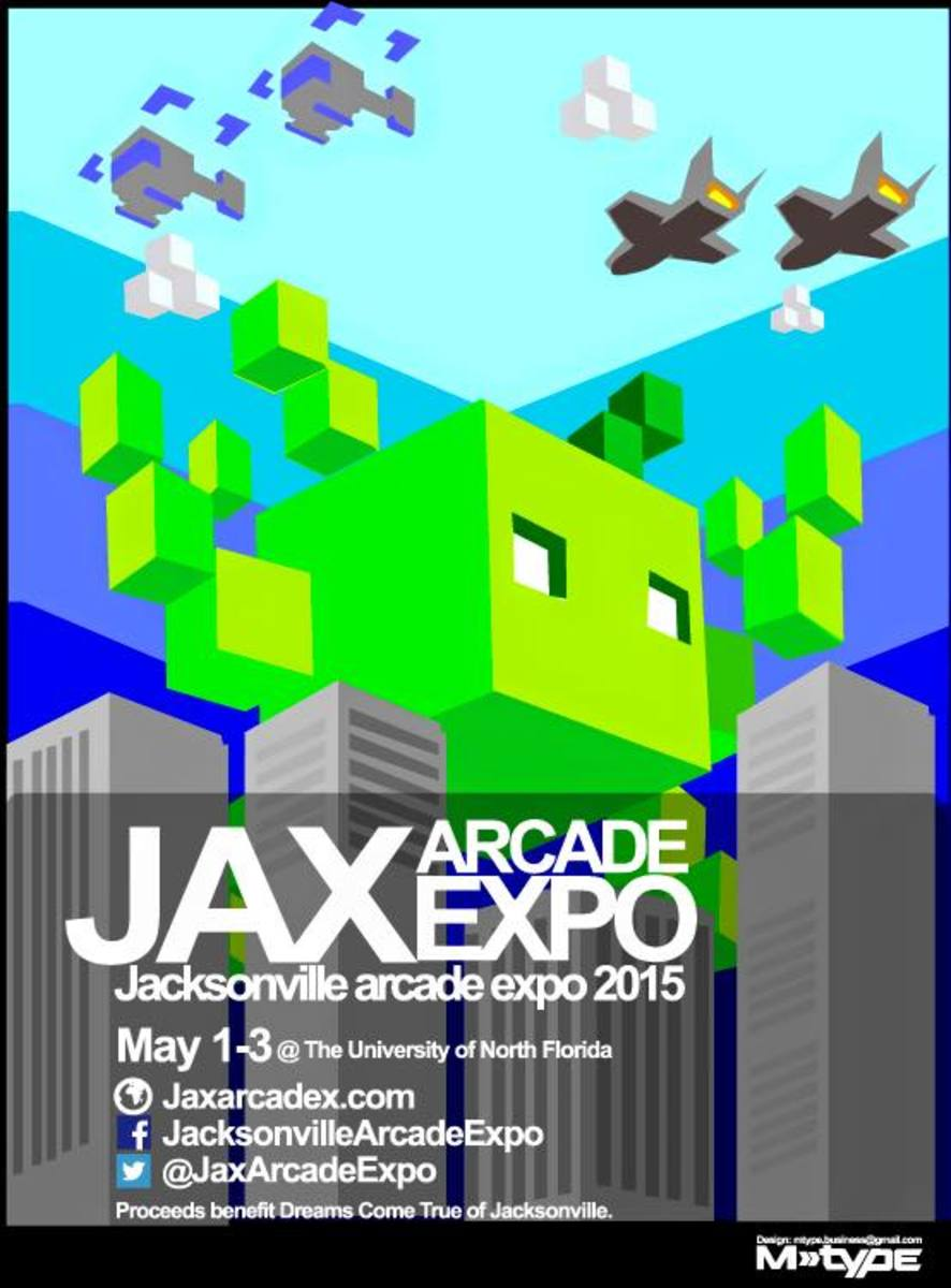 The Jax Arcade Expo will feature over 120 classic arcade and pinball machines in the Adam W. Herbert Center May 1-3.Photo Courtesy Facebook