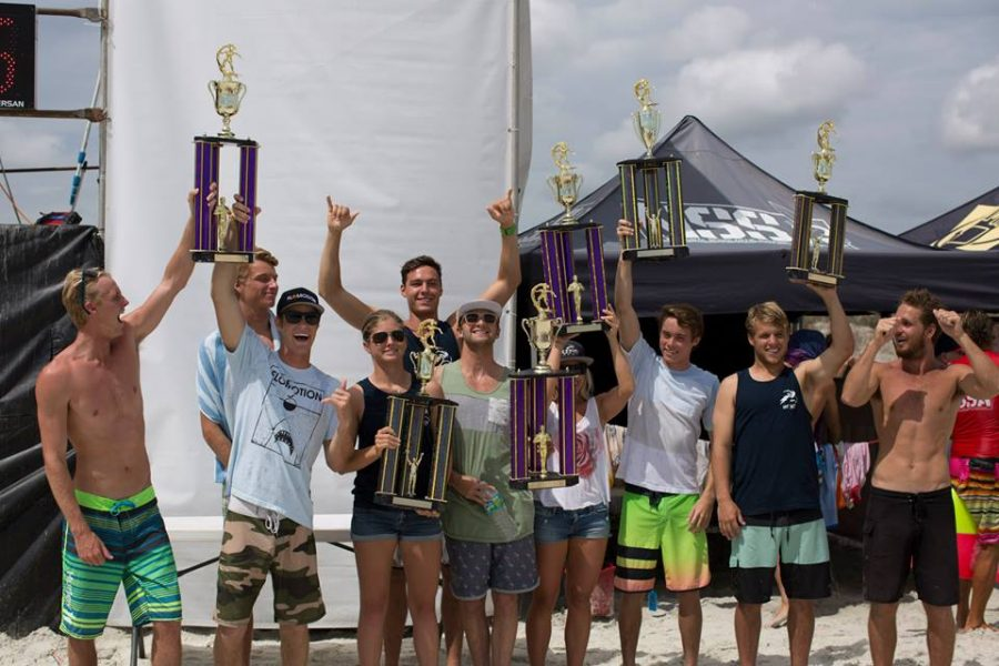 UNF Surf Team blows competition out of the water