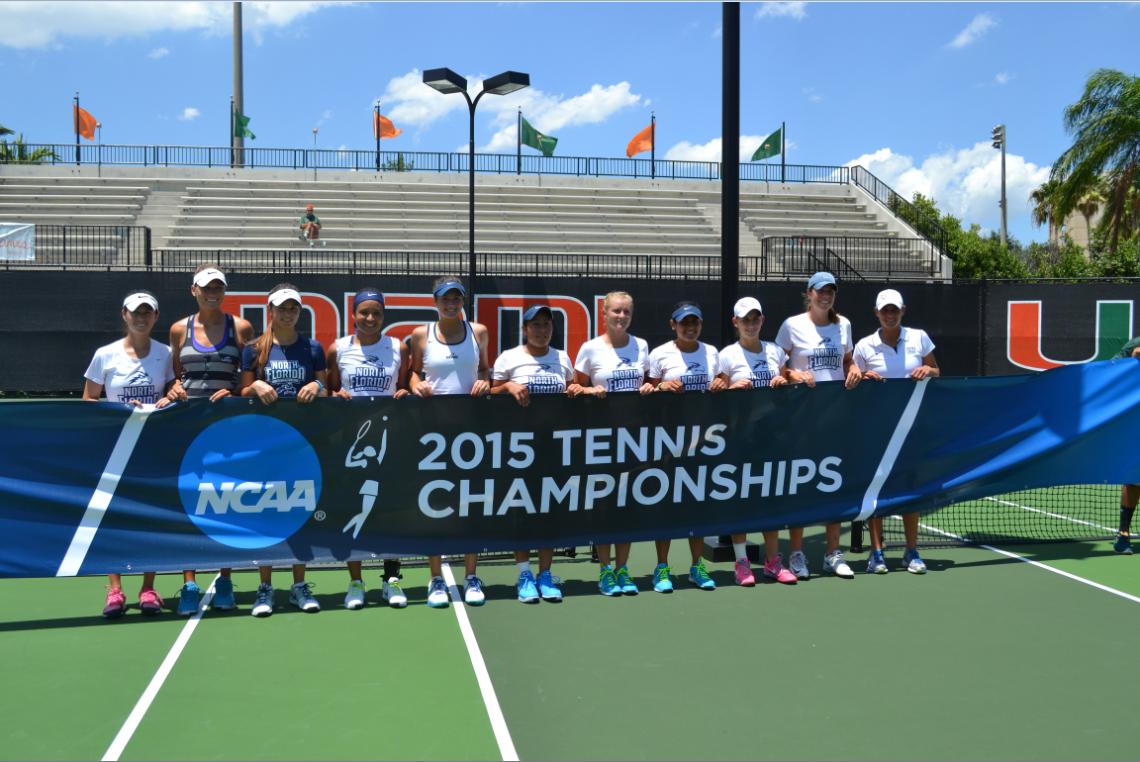 UNF women's tennis stumbles in NCAA Tournament