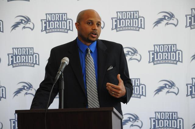 Meet Darrick Gibbs, the new head coach of UNF women's basketball
