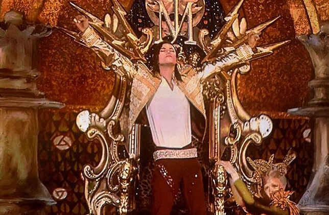 Michael Jackson's hologram performed at the 2014 Billboard awards.  Photo courtesy Twitter