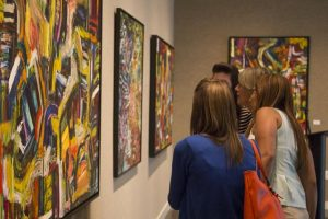 Lufrano Gallery displays wood-fired student art
