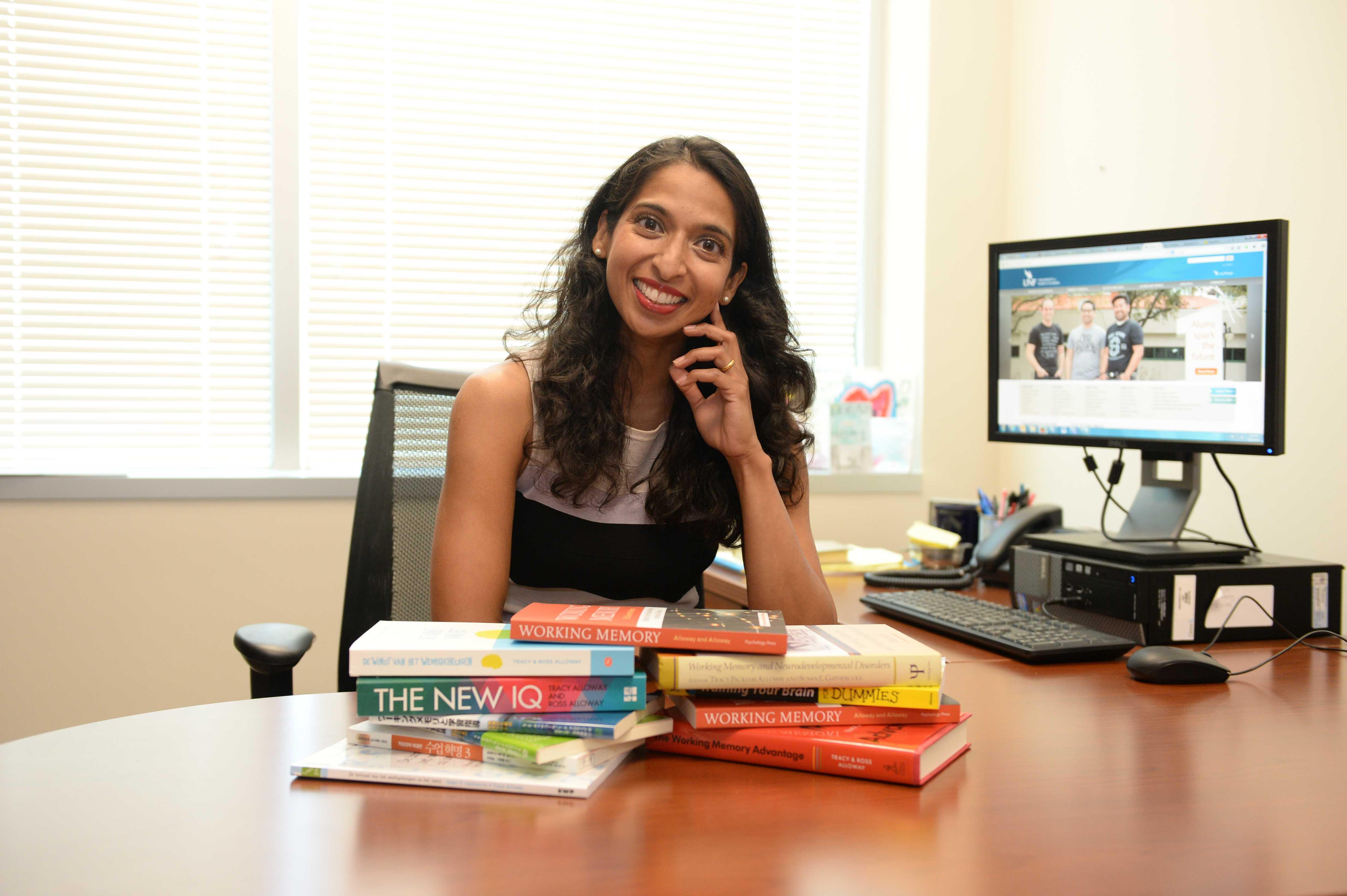 UNF Associate Professor Dr. Tracy Alloway.Photo by Jennifer Grissom