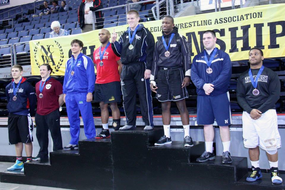 Maddox on the podium for his National Championship.  Photo by Jeannine Maddox